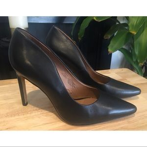 New Elegant H&M Leather High Heels Stiletto Shoes